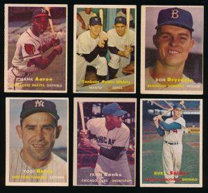 1957 Topps Baseball lot