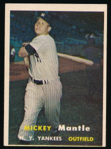 Mickey Mantle 1957 Topps