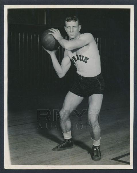 Purdue guard John Wooden 1930