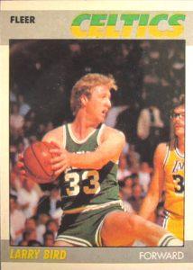 Larry Bird 1987-88 Fleer