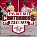 Panini Contenders 2015 Baseball box
