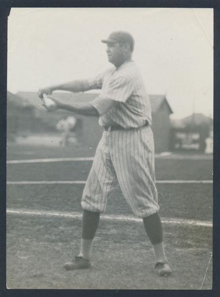 Babe Ruth photo 1921