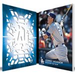 2016 Topps Laser Corey Seager open