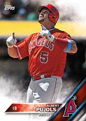 Albert Pujols 2016 Topps Series 2 base