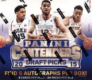Contenders Draft Picks 2015-16 hobby box