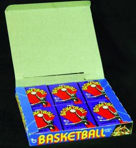 Topps basketball wax box 1972-73