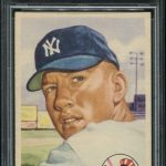 Mickey Mantle Cards 1953 Topps PSA 8