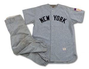 1951 Joe DiMaggio game worn uniform