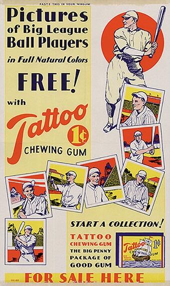 1933-Tattoo-Orbit-Baseball-advertising