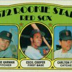 Carlton Fisk 1972 Topps rookie card