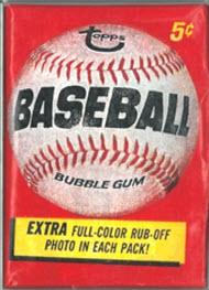 Topps Baseball pack 1966