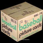 Topps 1978 Baseball rack case
