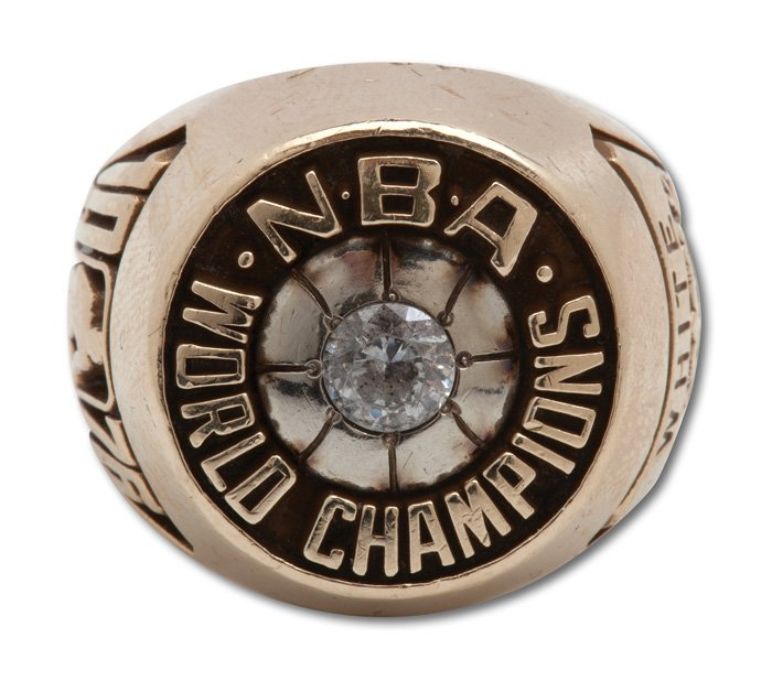 JoJo White 1976 NBA Championship ring