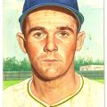 Original art Danny O'Connell 1953 Topps