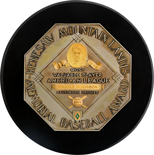 1964 AL MVP award Brooks Robinson