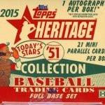 2015 Topps Heritage 51 box