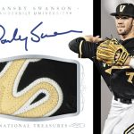 Dansby Swanson auto 2015 National Treasures College
