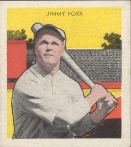 Jimmie Foxx 1933 Tattoo Orbit