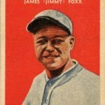 Jimmie Foxx 1932 US Caramel