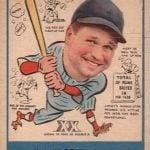 Jimmie Foxx 1938 Goudey
