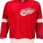 Game-worn Gordie Howe jersey 1960s