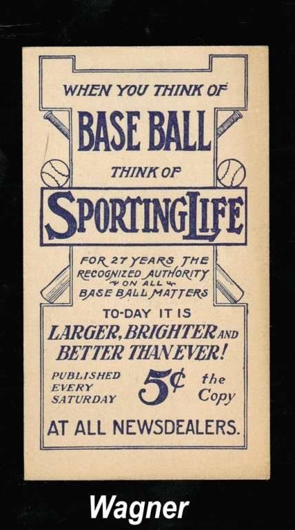 Sporting Life 1911 back