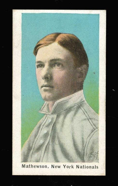 Christy Mathewson Sporting Life 1911