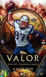 Topps Valor NFL 2015 box