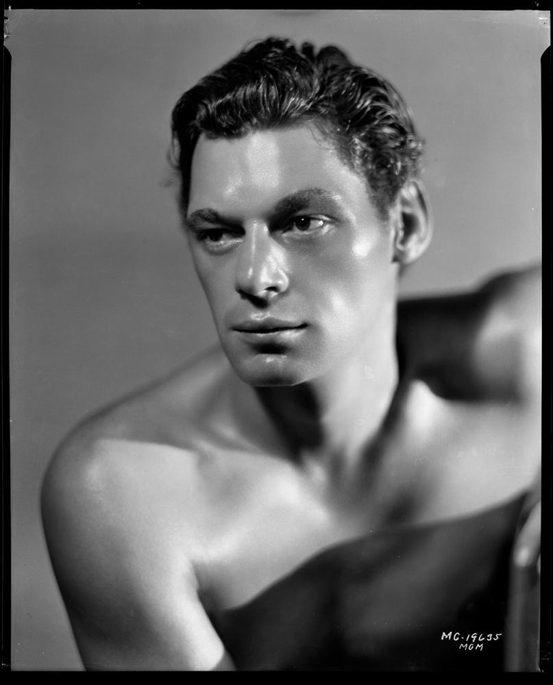 Johnny Weissmuller studio portrait Tarzan the Ape Man