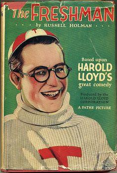 Book 1925 football comedy The Freshman
