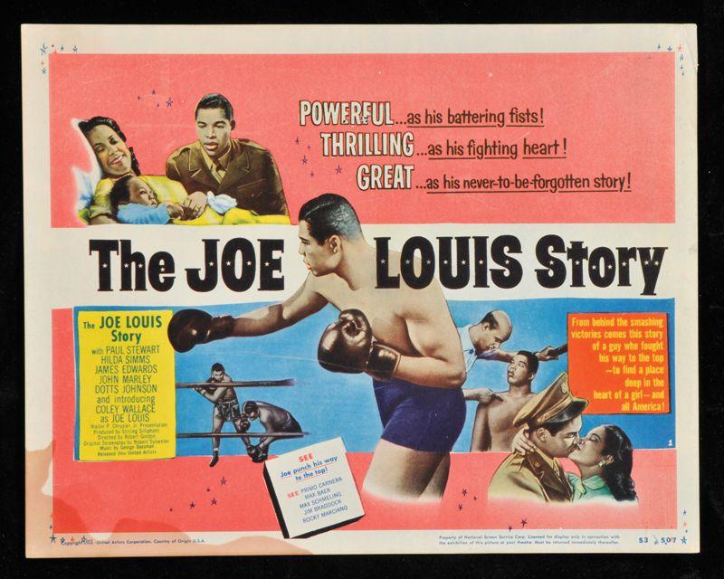 The Joe Louis Story lobby card