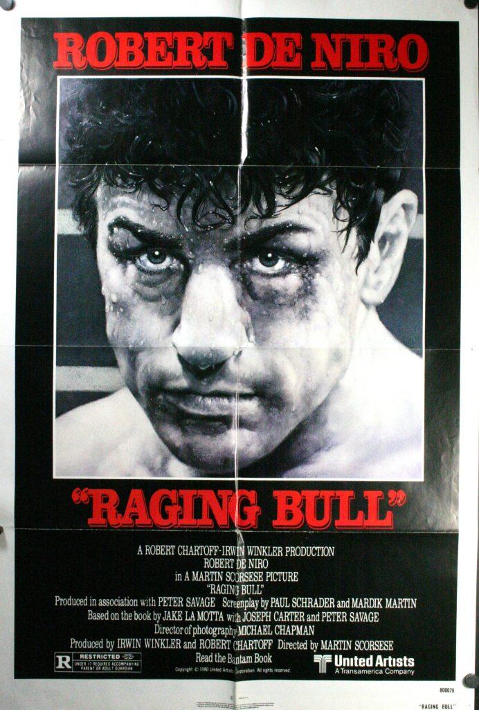 Original 1980 Raging Bull one sheet poster