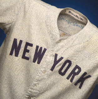 Mickey Mantle 1954 Yankees jersey