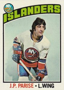 JP Parise New York Islanders hockey card