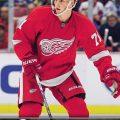 Dylan Larkin Young Guns hockey card