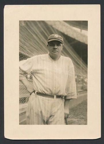 George Grantham Bain photo Babe Ruth 1921