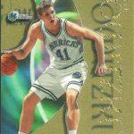 1998 E-X Credentials Dirk Nowitzki rookie card