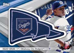 Topps Pro Debut Pennant Patches 2016