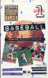 1994 Topps Stadium Club box