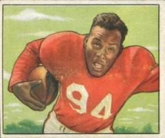 Joe Perry football card 1950 Bowman