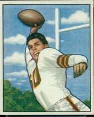 1950 Bowman Football card Otto Graham