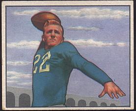 1950 Bowman Football Bobby Layne