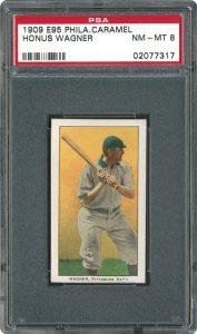 Honus Wagner E95 baseball card