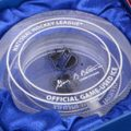 NHL Winter Classic Crytal Puck Game Used Ice
