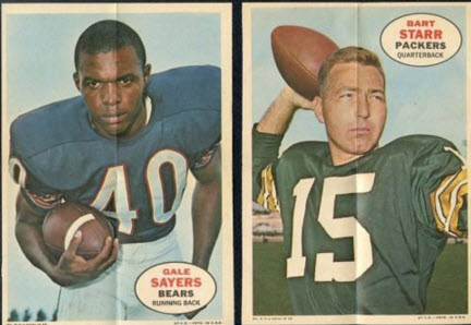 Topps Football Posters 1968