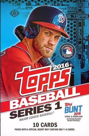 Topps 2016 Baseball Pack