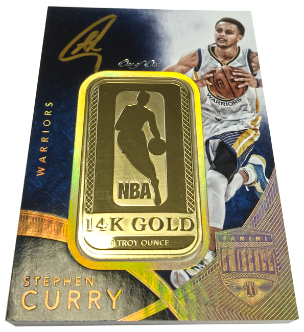 Panini Eminence Steph Curry 14K Gold