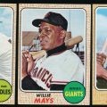 Star cards 1968 Topps Baseball