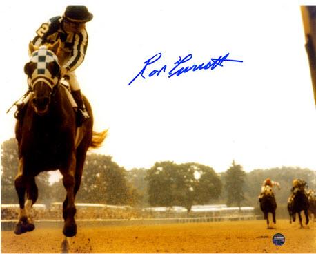 Autographed Ron Turcotte photo Secretariat