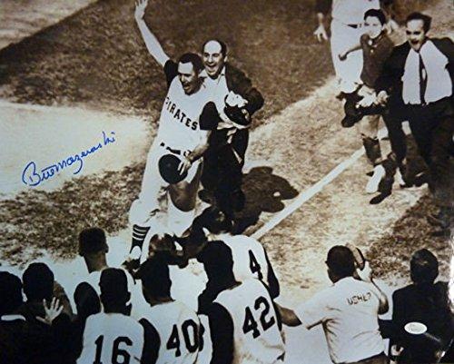 Autographed 1960 World Series homer Mazeroski